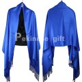 Free Shipping Blue Chinese Women's Pashmina Shawl Scarves Wrap SW-33
