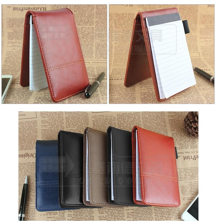 2015 nou design creativ papetărie PU din piele notepad Notebook - Blocnotesuri și registre - Fotografie 2