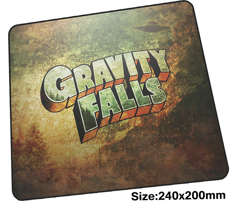 gravity falls mouse pad gamer 240x200mm notbook mouse mat mystery shack gaming mousepad Gorgeous pad mouse PC desk padmouse ...