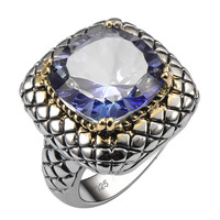 Hot Sale Exquisite Tanzanite 925 Sterling Silver Good Quality Ring Hot Gift For Men Size 6