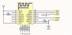 Image 3 - 1PCS ESP 12F (ESP 12E שדרוג) ESP8266 טורית מרחוק WIFI אלחוטי מודול ESP8266 4M פלאש ESP 8266