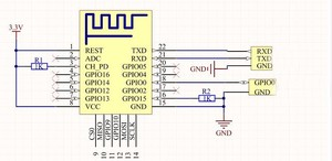 Image 3 - 1PCS ESP 12F (ESP 12E upgrade) ESP8266 Remote Serial Port WIFI Wireless Module ESP8266 4M Flash ESP 8266