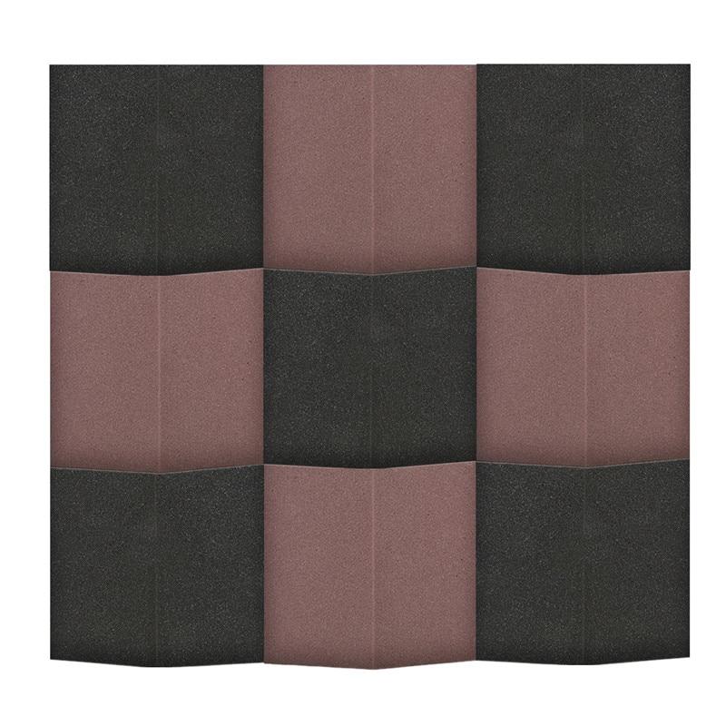 1pcs Diy Wall Stickers Foam Acoustic Panels Soundproofing Treatment Home Decor Art Decoration Noise Reduction