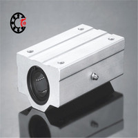 Scs50uu 1piece Standard SC50UU 40mm Linear Axis Ball Bearing Block With Bush Pillow Block Linear Unit