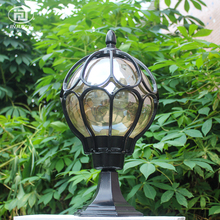 European Vintage Style Porch Lights Waterproof Outdoor Staircase Villa Gate Street Lamp Exterior Wall Decorate Garden Lights