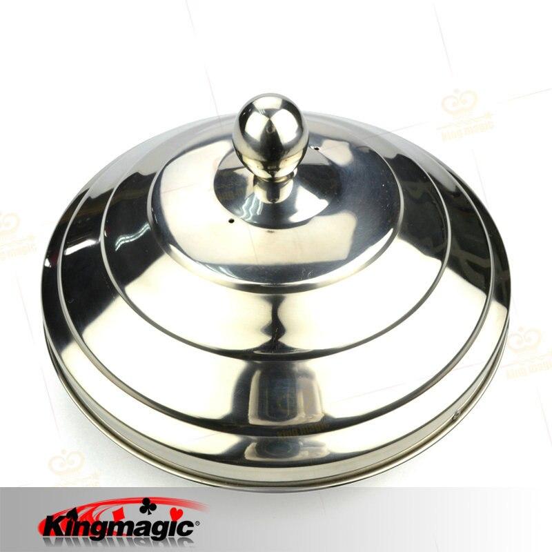 Dove pan (double charge) 20.5x16 cm king magic props fuuny magicien drôle jouets magia astuces