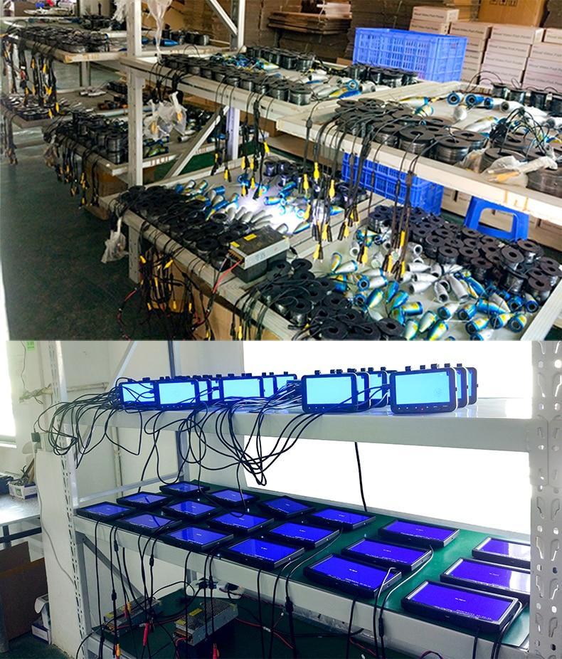 SYANSPAN 15/возможностью погружения на глубину до 30 м кабель 24 контролируемые светодиоды эхолот Камера HD 1000TVL подводный Ночное видение видео Камера для рыбалки