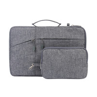 Megoo 12 Sleeve Case with Accessory Pouch for Microsoft Surface Pro 4/3/6/5 11 12 Macbook/Dell/HP/Samsung Chromebook Case