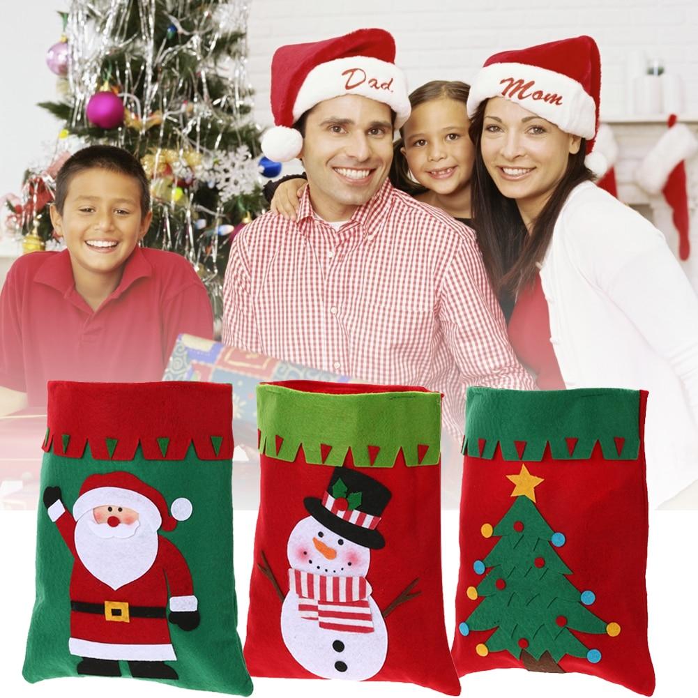 Christmas Candy Font B Bags