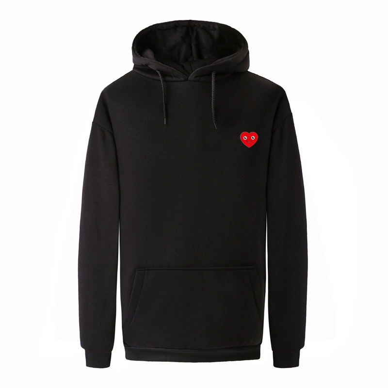 New Mens Hoodies Sudaderas Hombre Hip Hop Mens Brand Love Heart Smile Print Hooded Pullover Women Lovely Fleece Warm Sweatshirt
