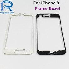 10 шт. для iPhone 8 4,7 высокое качество ЖК-дисплей Сенсорный экран Корпус средний каркас передняя рамка Замена Ремонт Запчасти