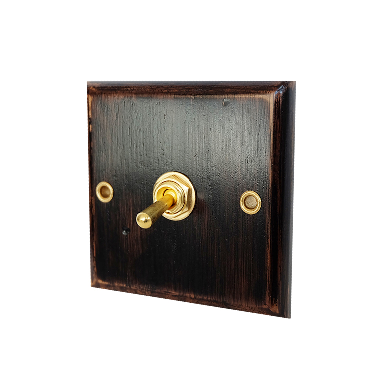 Retro Wood  Wall  Switch one Control  Two  Way   6A  110V- 250VRetro Wood  Wall  Switch one Control  Two  Way   6A  110V- 250V