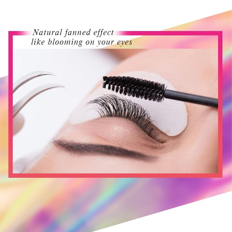 Klacuva 50 cases/lot eyelashes extension for russian volume premium quality mink eyelash extension individual lashes extension