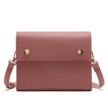 MICOCAH Fashion flap bags ladies PU Leather Crossbody Bags For Women Famous Brand Designer Bag Pink/ Brown/ Black MSD192 цена и фото