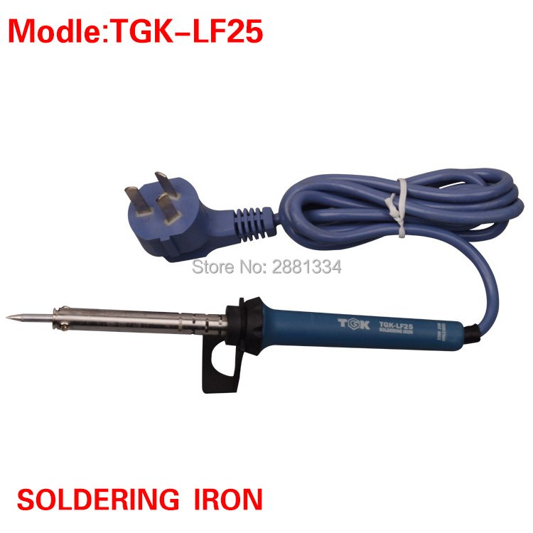 High Quality TGK-LF25 Constant Temperature Professional Lead-Free Electric Soldering Iron 220V 25W Welding Tool