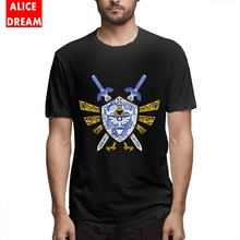 Heroes Legend Tee Shirt MenMan Stylish Short Sleeve Pure Cotton Plus Size The legend of zelda t shirt Link