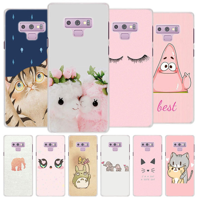 new style a5ecf 4e6bc US $2.17 34% OFF|kawaii animal Bambi cat Case Cover for Samsung Galaxy Note  9 Note 8 Note 5 4 3 Hard PC Case for Galaxy Note 8 9 Phone Case-in ...