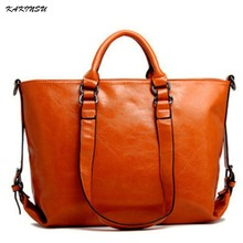 Genuine Leather Fashion Bags Tote Leather Handbags Women Messenger Bags Luxury Brands High Quality Women's Shoulder Bags #T8812