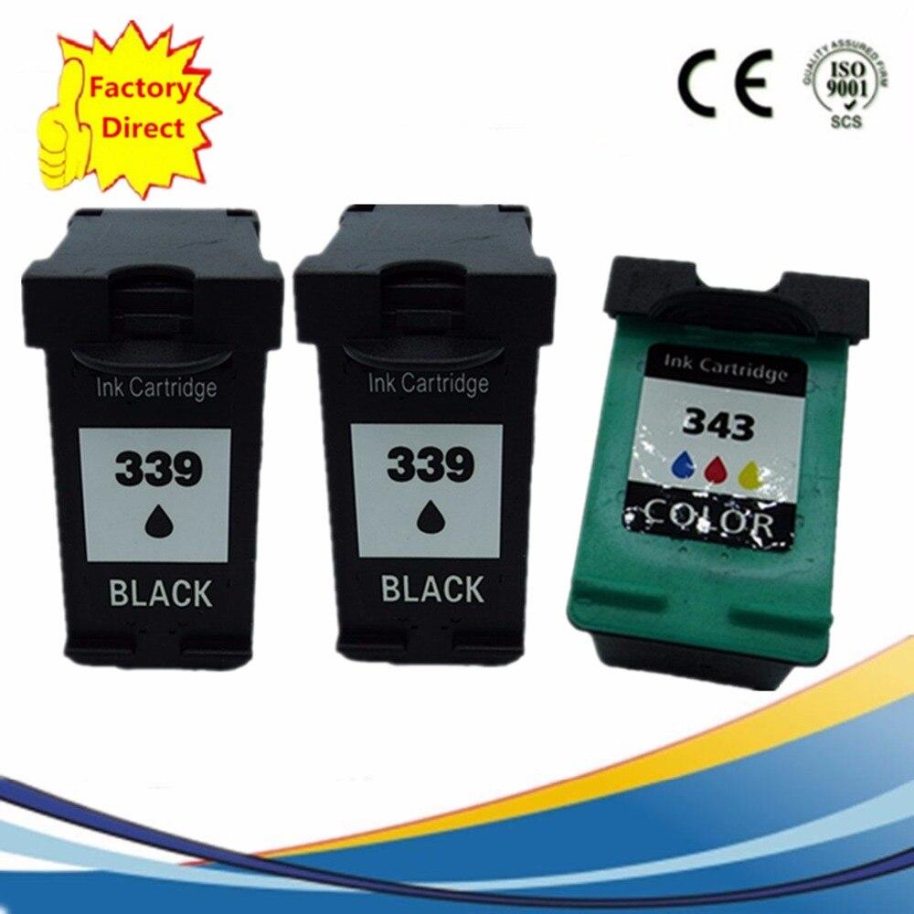 Cartuchos de tinta Remanufactured Para HP339 Officejet 6310xi 6301 6304 6305 6307 6308 6310 6310v 6313 6315 6318 K7100
