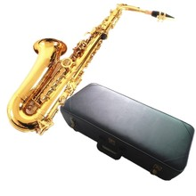 Alto Saxophone instrument NEW FREE SHIPPING EMS UPS alto saxophone 54 E Alto Sax instruments playing professional gold