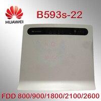 Открыл Huawei b593 b593s-22 150 Мбит/с 4G LTE 3 г CPE Wi-Fi Беспроводной маршрутизатор 4G LTE МИФИ мобильной точки доступа ключ pk b593 b880 e5172
