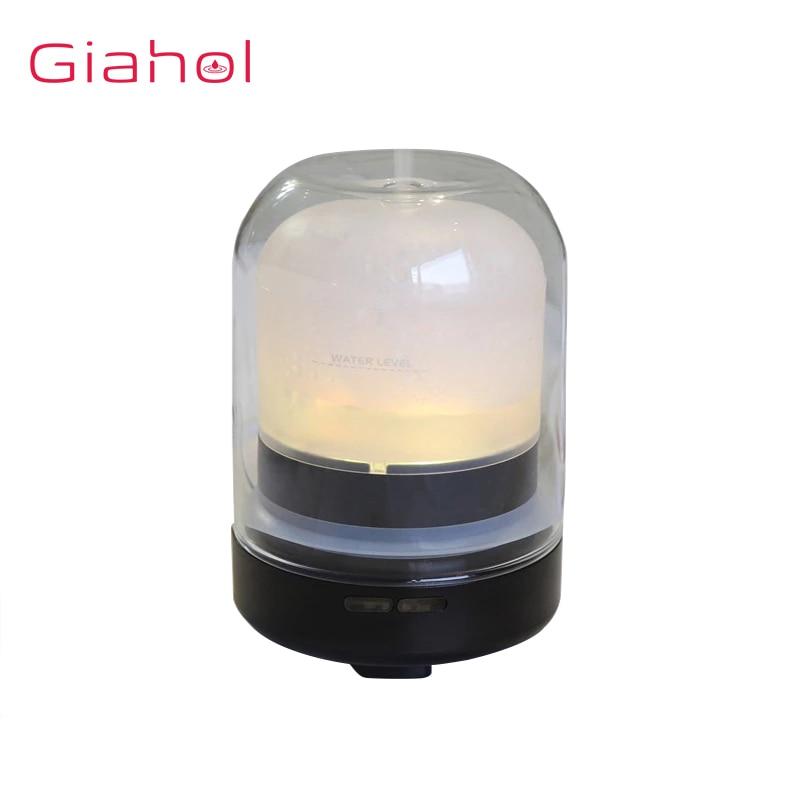 Électrique USB Humidificateurs D'arome Diffuseur D'huile Essentielle Purificateur D'air D'aromathérapie D'huile pour La Maison LED Lampe De Nuit Brumisateur