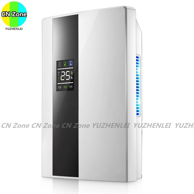 Deshumidificadores eléctricos inteligentes drenaje continuo purificar secador de aire máquina de absorción de humedad electrodomésticos
