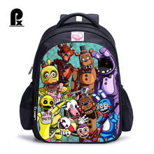 Hot Sale Children Backpack Five Nights at Freddy's School Bags Printing Cartoon Game Backpack for Boys and Girl Mochila Infantil