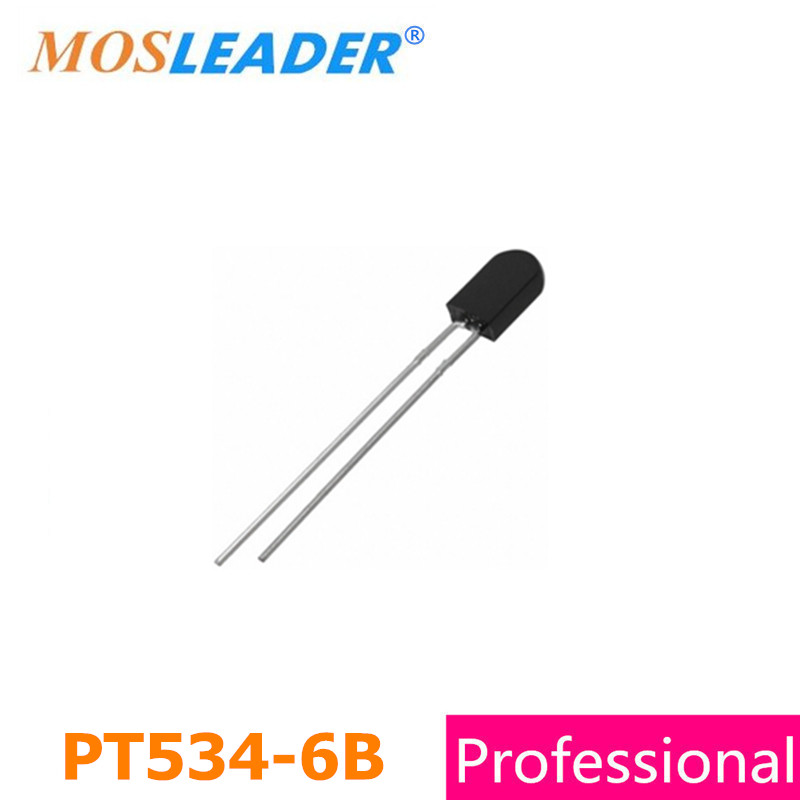 Mosleader DIP PT534-6B 1000pcs PT534 5mm Silicon Phototransistor High quality mosleader dip pt908 7c f 1000pcs