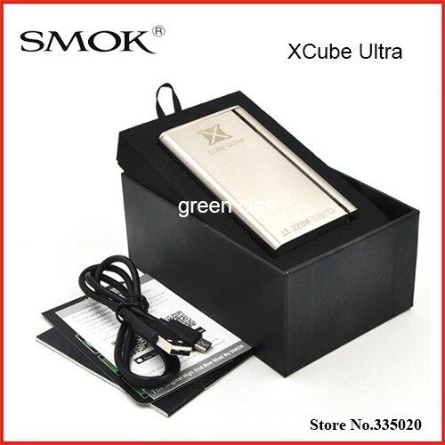 Original Smok XCube Ultra 220W Mod Electronic Cigarette Vaporizer Box Mod Temperature Control XCube Ultra