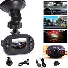 Автомобиль Камера C600 мини 1.5 дюймов Видеорегистраторы для автомобилей 720 P автомобиля Камера ИК-светодиодами Ночное видение Регистраторы регистраторы g-сенсор 140 градусов Широкий формат