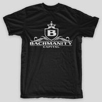 BACHMANITY CAPITAL Erlich SILICON VALLEY Bachman PIED PIPER Big Head T Shirt 2018 Latest Men T
