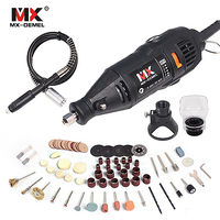 MX DEMEL Mini Drill Dremel Style Electric Rotary Tools Engrave Grinder Variable Speed With Shaft Bag