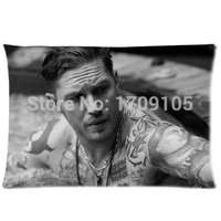 Tom Hardy Personalized Roomy Zippered Pillow Case 20x30 (One Side)
