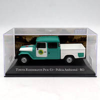 1:43 IXO T~yota Bandeirante PickUP Policia Ambiental RO truck Diecast Models Toys Collection
