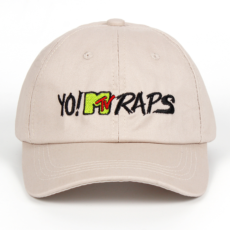 YO! MTV RAPS   baseball     cap   casquette de marque gorras planas dad hat hip hop snapback   caps   hats for women men hat Casual hats