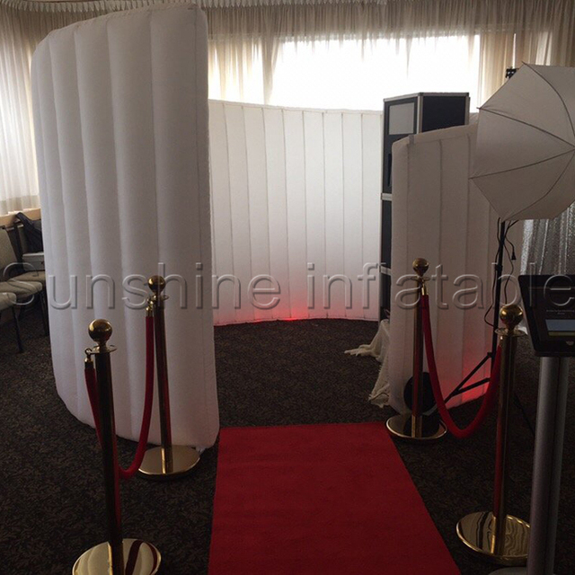 Durable oxford material spiral inflatable photo booth tent inflatable photo booth enclosure inflatable air wall portable & Durable oxford material spiral inflatable photo booth tent ...