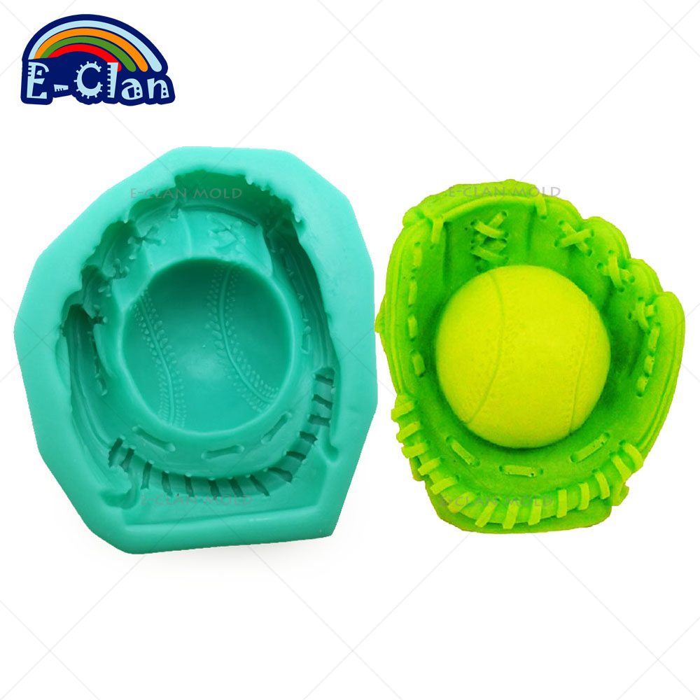 Soap Molds Audacious Baseball Gloves Handmade Soap Mold For Cake Decorating Chocolate Candle Mould Cake Baking Tools Kitchen S0393bq