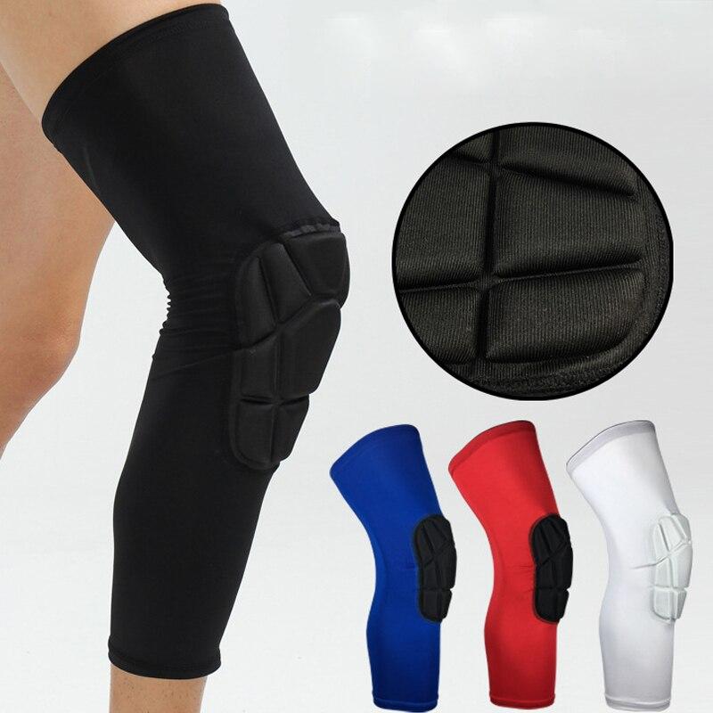 1 PARA Knieschützer Erwachsene Unterstützung Sicherheit Lycra + EVA Kniebandage Langarm-sport-schutz Unterstützung Sport Sicherheit HX008