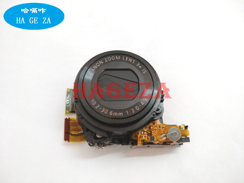 90%New Original G9X zoom Lens Unit For canon G9X lens ( contains CCD) Camera Replacement Unit Repair Part free shipping replacement lens unit assembly repair part for canon g7x 90%new