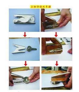 Image 4 - Ontwerp Uw Eigen Embosser Stempel/Custom Embosser Seal voor Gepersonaliseerde/aanpassen Embossing stempel met uw logo, Gepersonaliseerde