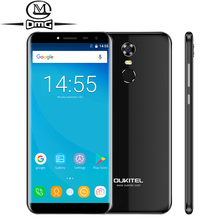 "Oukitel C8 18:9 Seitenverhältnis Handy 5,5 ""HD Quad Core 1,3 GHZ 2 GB/16 GB ROM 13MP Android 7.0 3000 mAh Hinten Touch ID Smartphone"