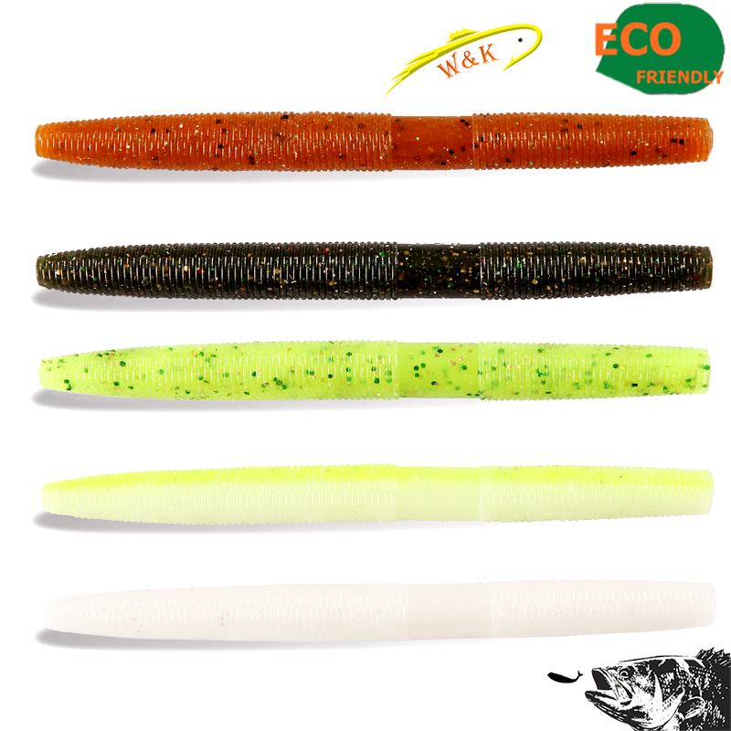 Light texas rig worm for bass 4 inch 6 pcs per soft bait soft worm lure promise me texas