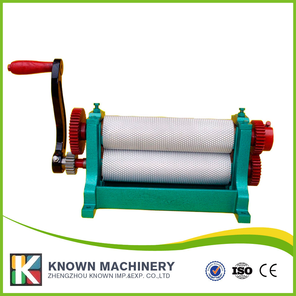 195*86mm Manual beeswax foundation machine wax mill machine 86 250mm competitive price bees wax foundation machine