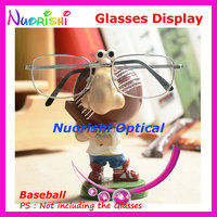 Cute Cartoon Baseball Store Household Car Decoration Eyeglass Sunglasses Eyewear Dispaly Stands Holder CK04 Free Shipping