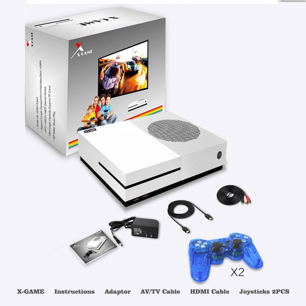 HD ТВ игровых консолей 4 ГБ игровой консоли Поддержка HDMI ТВ Out встроенный 600 классические игры для GBA/ smd/РЭШ/fc формат