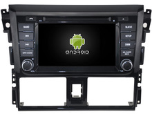 Android 5.1 car dvd GPS fOR 6.2″ TOYOTA YARIS 2014 GPS NAVIGATION RADIO BLUETOOTH WIFI 3G map free camera mirror link