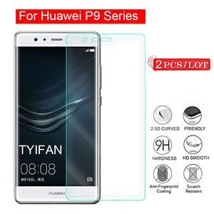 2 шт., закаленное стекло для Huawei P9 Lite Mini Plus 2017, Защитное стекло для экрана, защитная пленка Tremp on P 9 9p P9lite