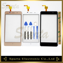 цена на 5.0 Touch Screen For Bravis A504 Touch Screen Panel Digitizer Glass Sensor Lens Repair Replacement