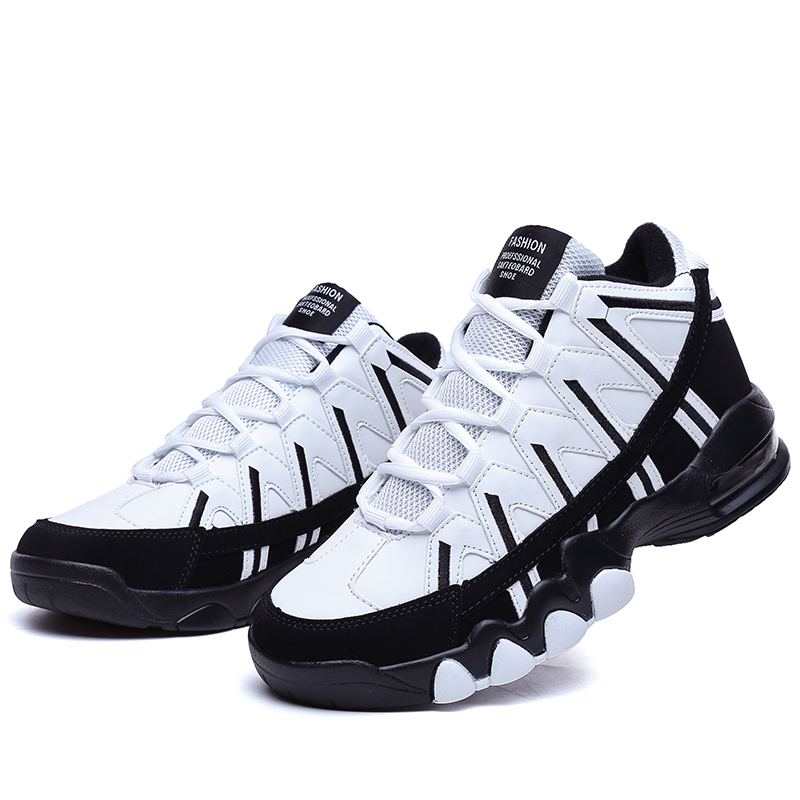 Female New High Top Basketball Shoes Women Breathable Sneakers Outdoor Training Shoes Girls Dmx Air Cushion Sports Shoes